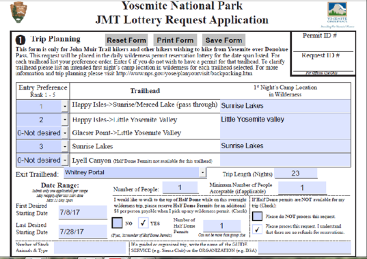 JMT Lottery Application