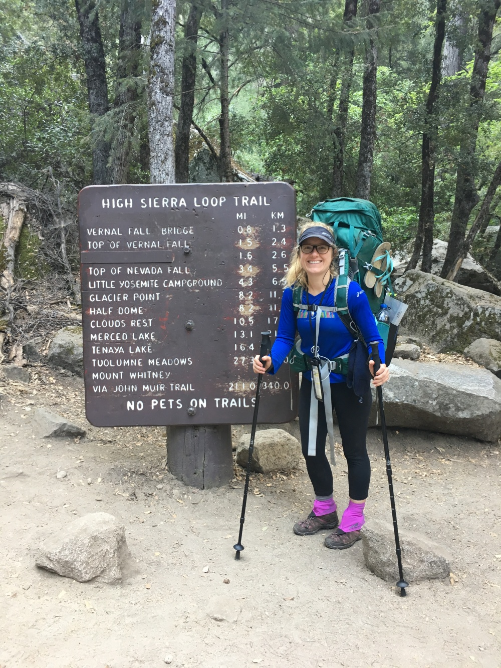 Hiking the JMT