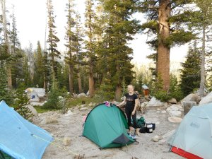 JMT on trail accommodation