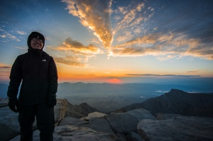 Mount Whitney, John Muir Trail